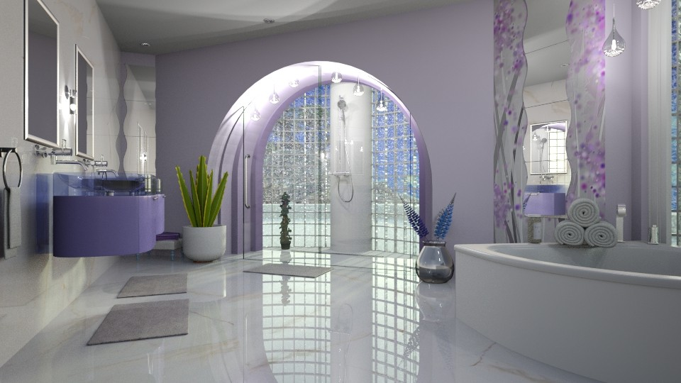 Lavender inspired - by ZsuzsannaCs