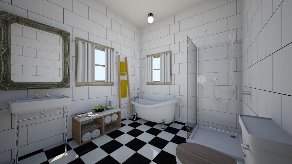 Vintage Bathroom - Bathroom - by Cheyenne Stephenson_339