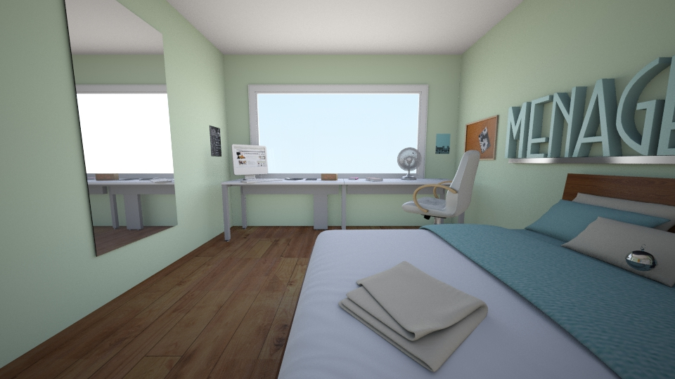 my - Bedroom - by Mariana Ortiz
