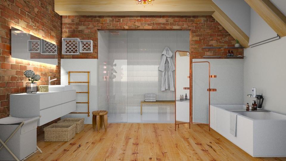 top floor bath - Kitchen - by rfstarbuck