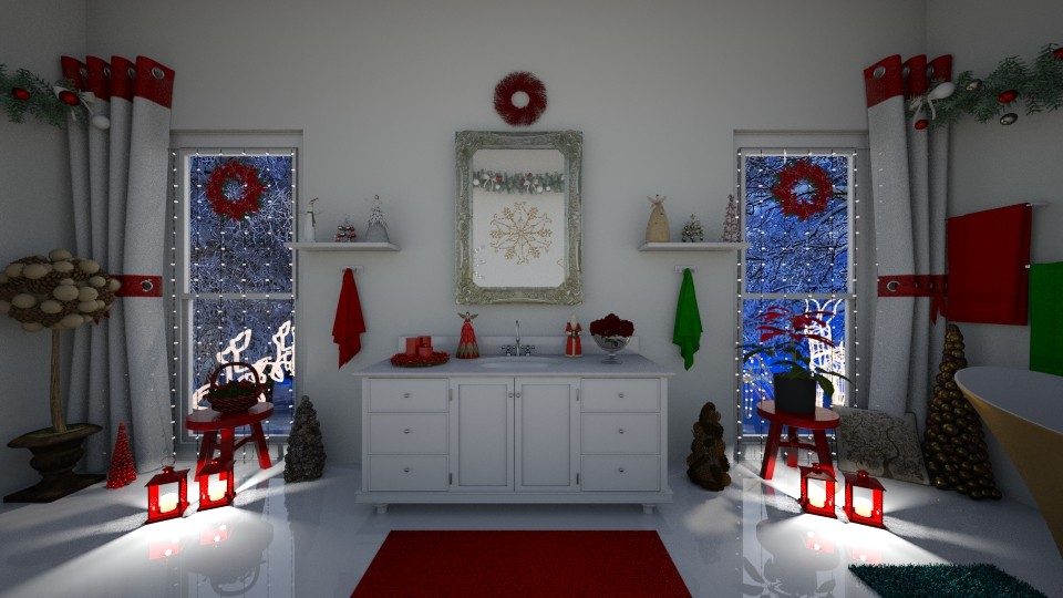 16 Christmas Bathroom - by mz_little_bit