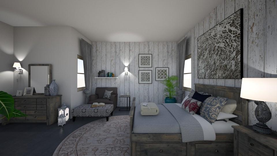 greys - Bedroom - by alina2222