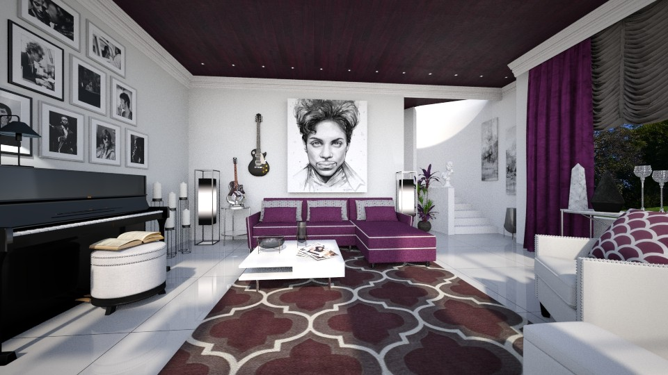 Music Luvr - Living room  - by Lackew
