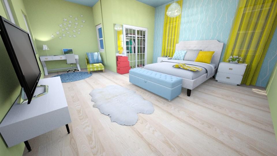 Cozy Room - Eclectic - Bedroom - by UloveTashi Designs