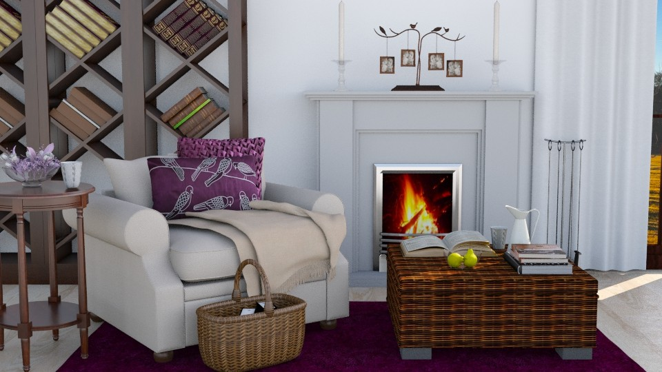 Domera - Living room - by Magdalena ER