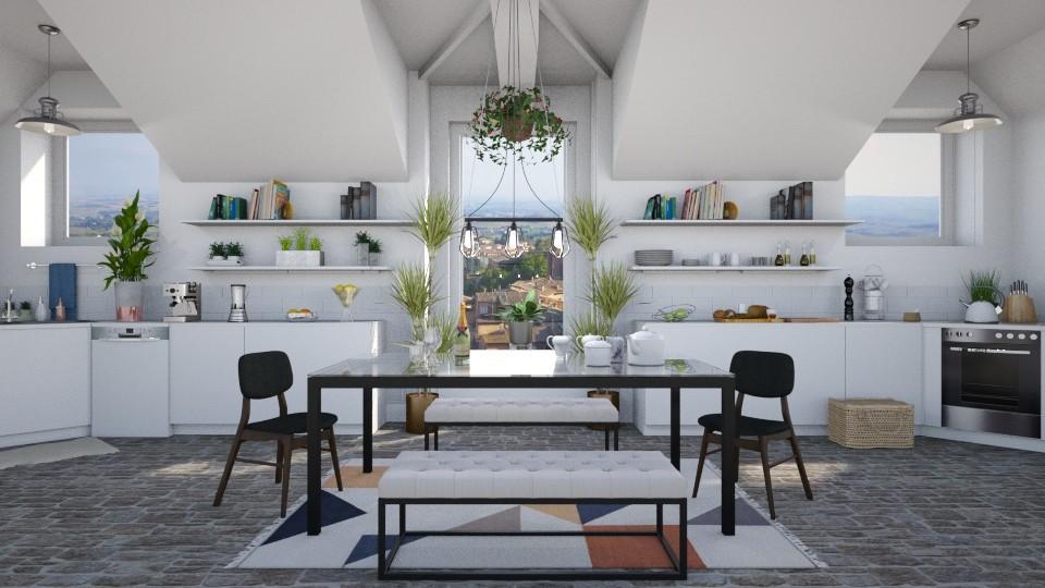 Dormer kitchen - by Ali Ruth