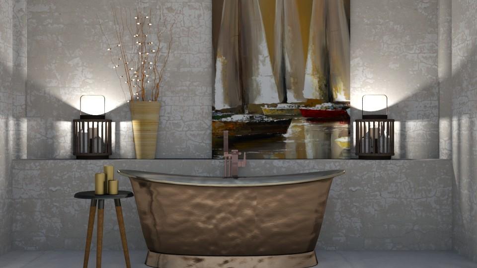 boat bath - Bathroom  - by snjeskasmjeska
