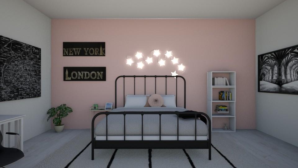 Dreamer - Minimal - Bedroom - by avika