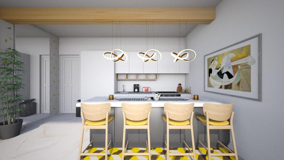 Chirpy - Kitchen - by genevivechen