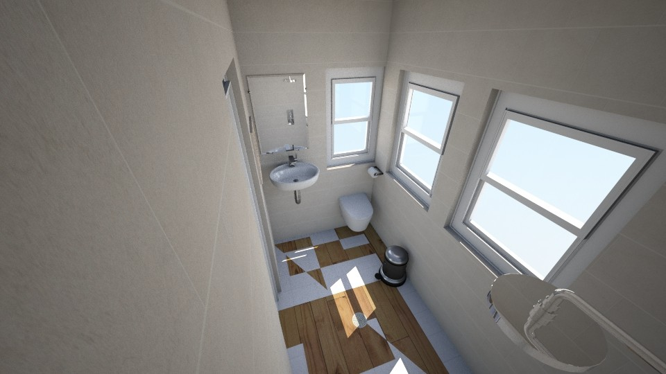 small home bathroom - by ismellhippies