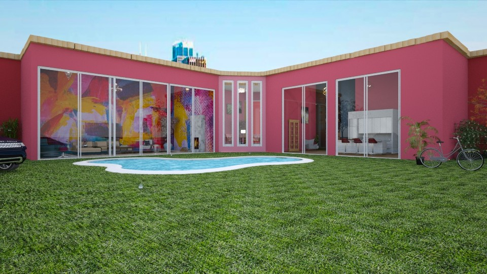 The Ribbon House - Modern - by Art_Decoration