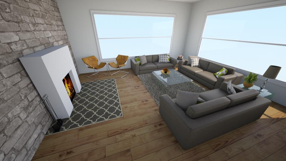 Living Room Modern 1 - Modern - Living room - by emmabhawks10