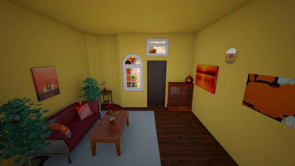 Italyan living room - Living room - by Ninorucska