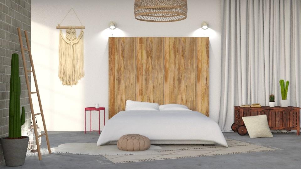 Simple Life - Bedroom - by DeborahArmelin