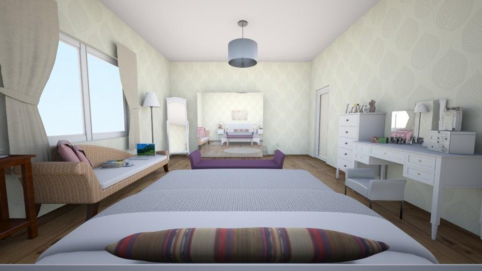 ustkat2 - Bedroom - by Ebru Tekneci