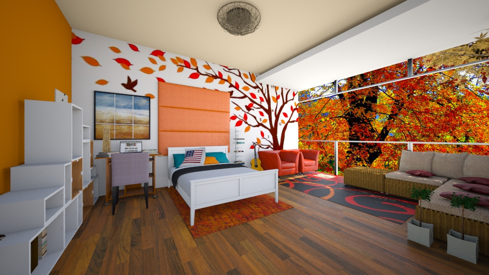 autumn bamz - Bedroom  - by abraham samangun