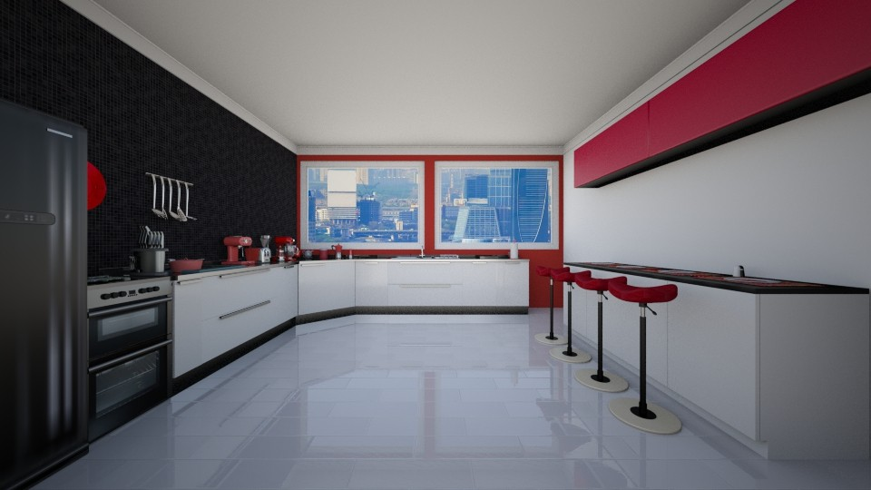 gabriels kitchen - Kitchen - by Sophie Cordeiro