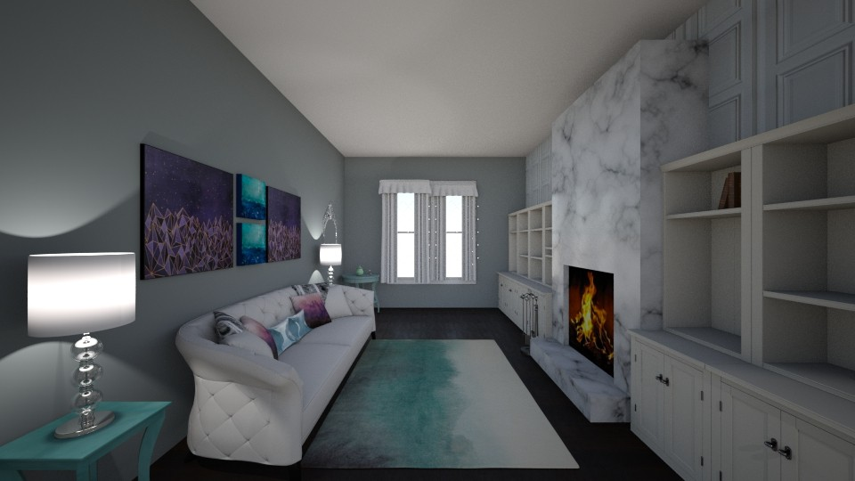 Livingroom1 - Living room - by MarlanaWellman