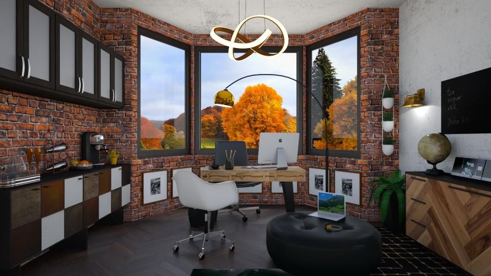 Autumn Home Office - Office - by lizasvetlin