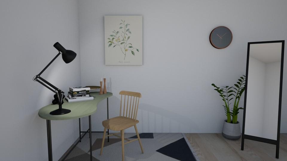 Home office - by Basilikum