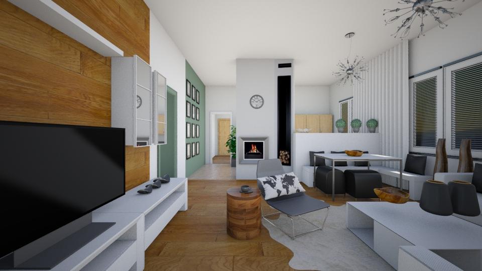 living room - by designdecosimona