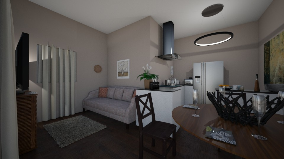 Apartment Main Room - by RAF2024