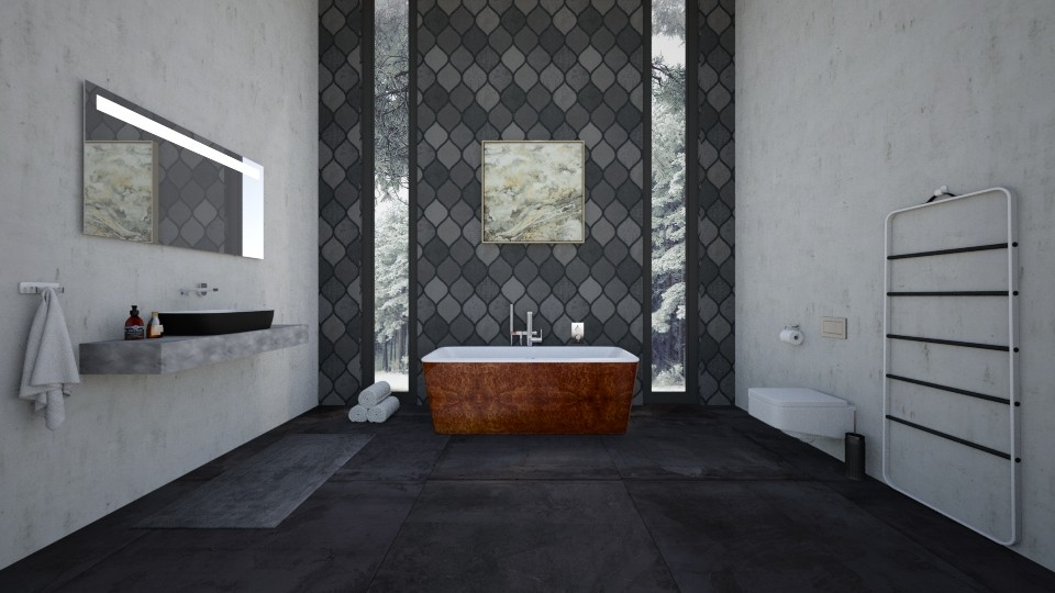 MODERN Bathroom - by Bastin
