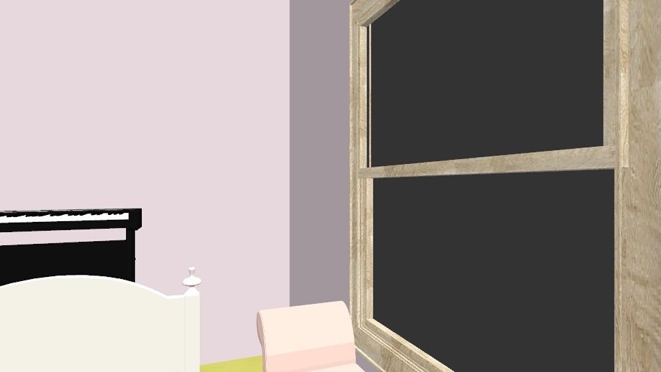 Allie Bedroom - Bedroom - by katiereuter