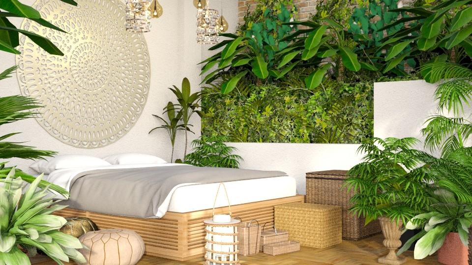Light Jungle - Rustic - Bedroom - by millerfam