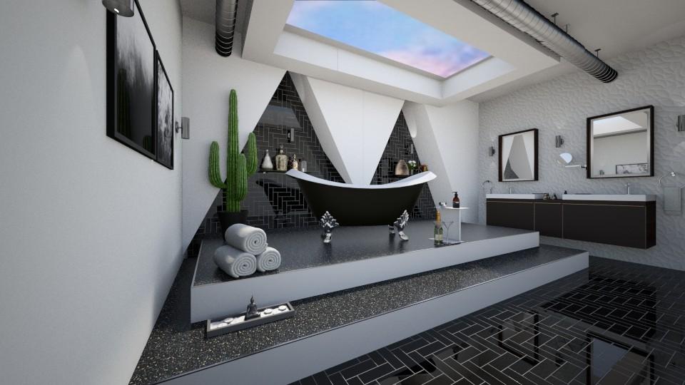 Mandagora bath - Modern - Bathroom - by Mesehabbal