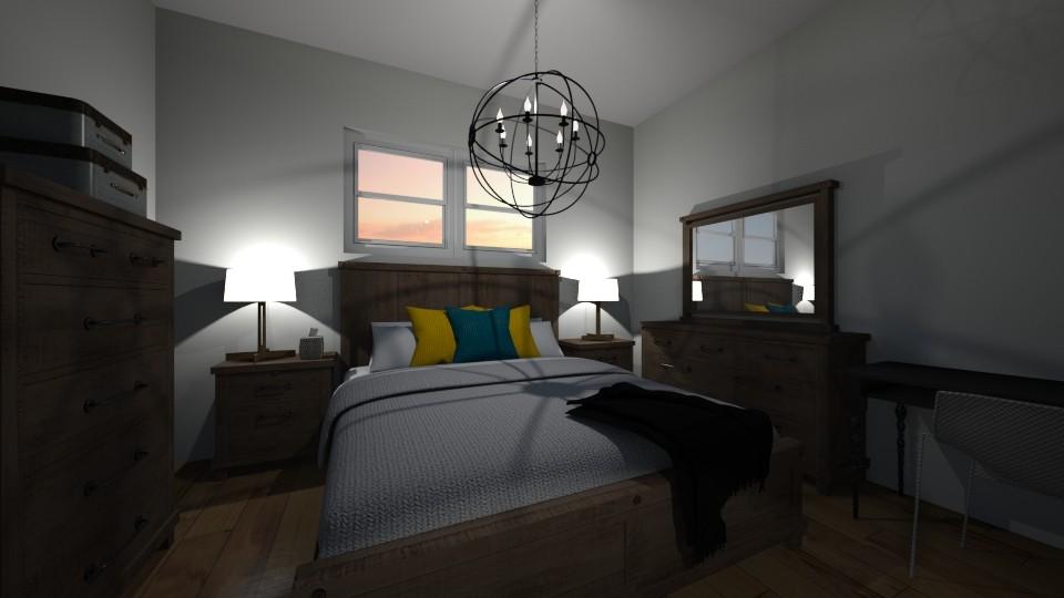 Guest Room Large - Rustic - Bedroom - by jaiden2006
