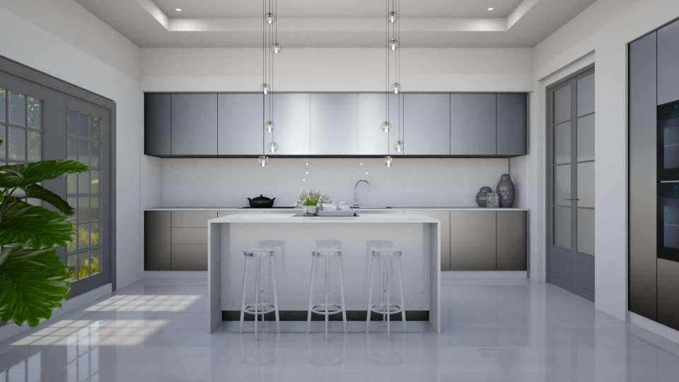 ROSE GREY  - Classic - Kitchen - by Rose Hdz