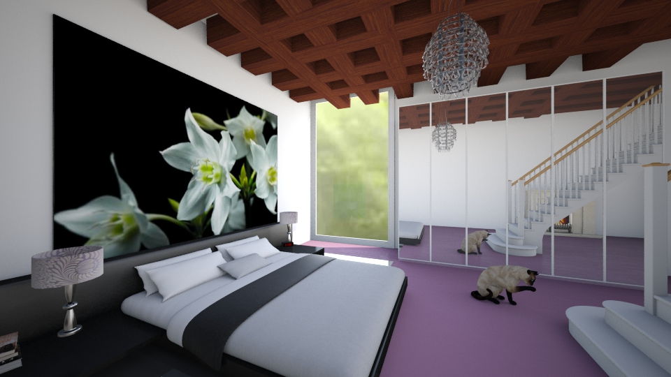 Modern room - Bedroom - by Faby_89_