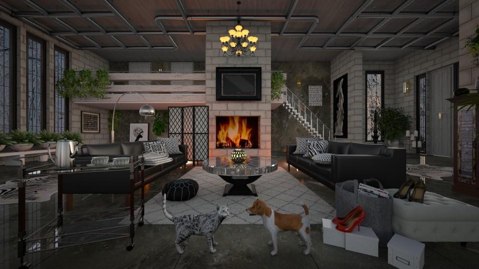 Warehouse Renovation - by lydiaenderlebell