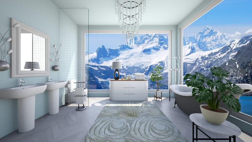 Glacier Bath - by VeroDale