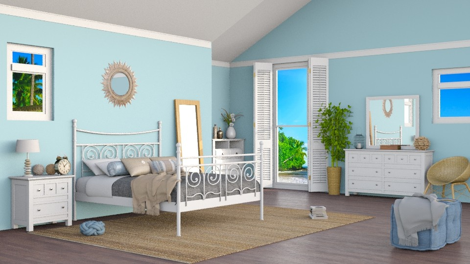Coastal - Modern - Bedroom - by carina68
