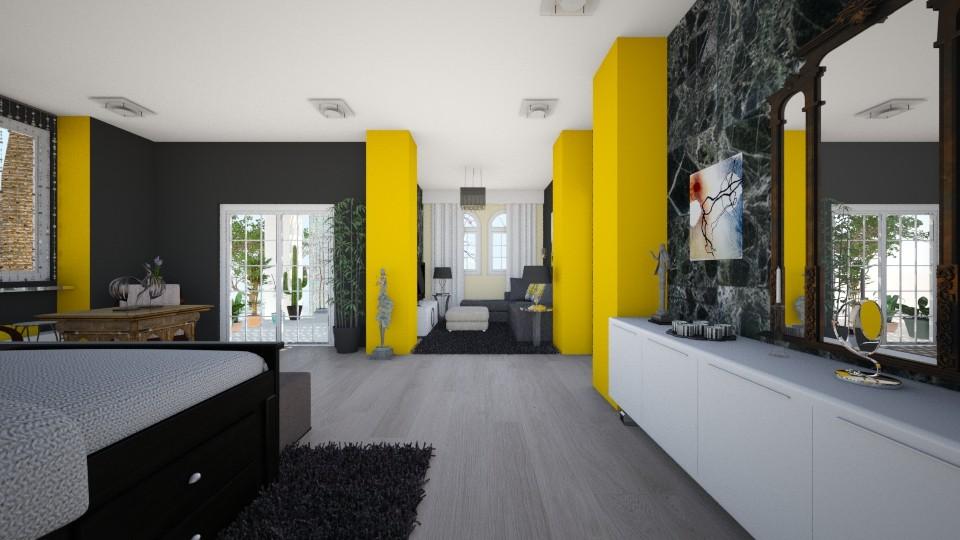 Suit_bedroom_3 - Bedroom - by Lucy Miranda