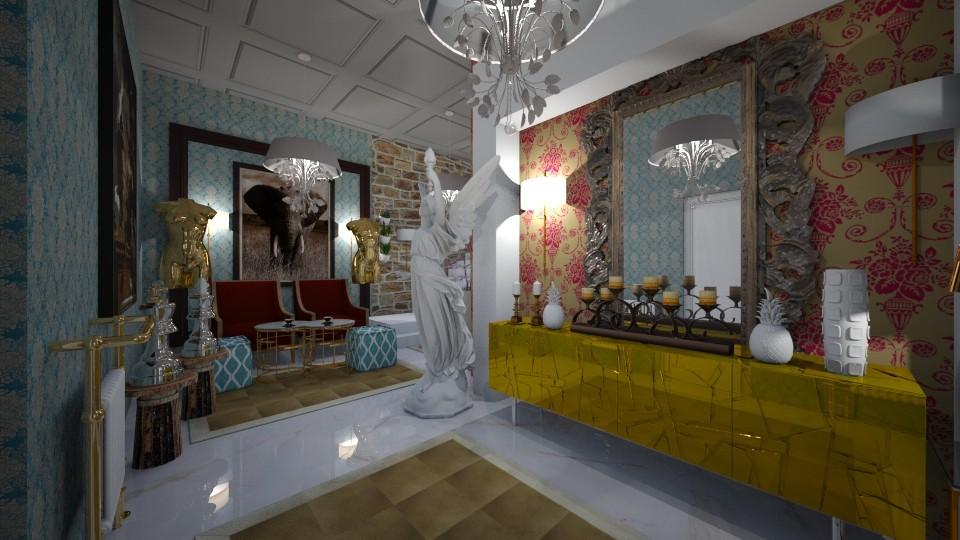 Maximall Hall way - Living room - by Nikos Tsokos