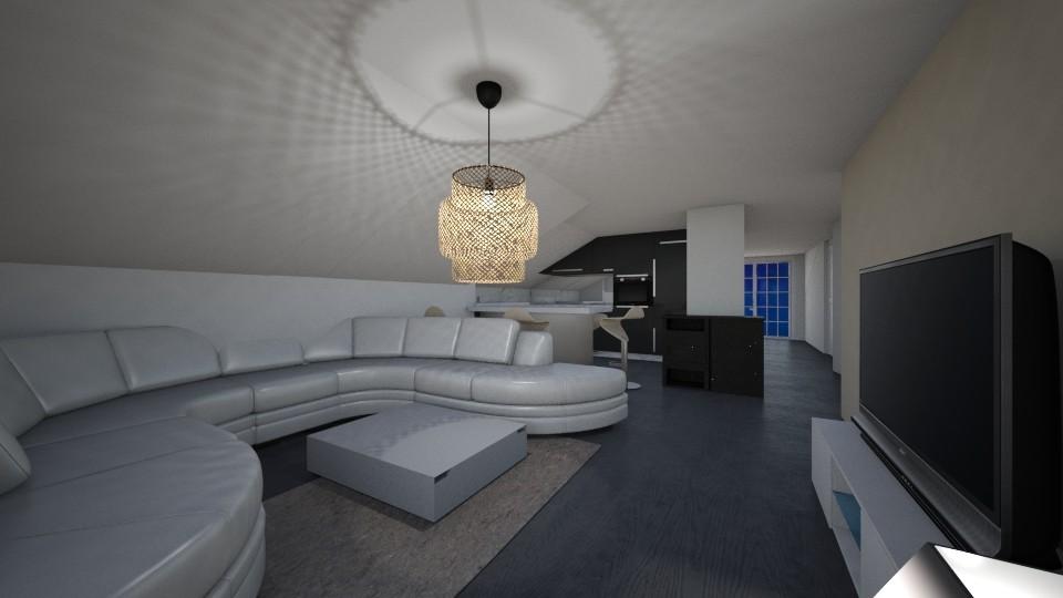SUAT PLAN living vvf - Living room - by FatijonaF