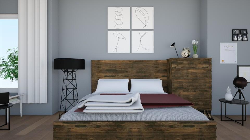 Mineral Haze - Bedroom - by elisavz_