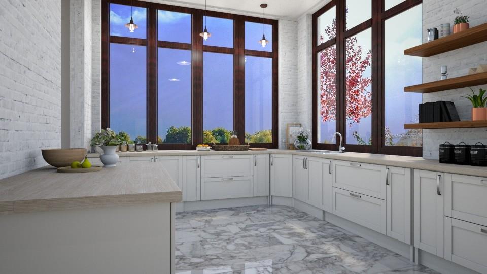 Windows 2 - Kitchen  - by dorota_k