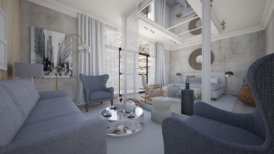 manhattan bedroom - by gvidiani_nina