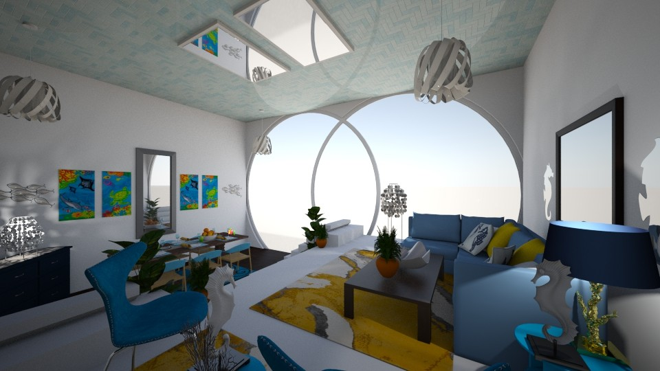 Under the Sea - Modern - Living room - by CreativeCreations