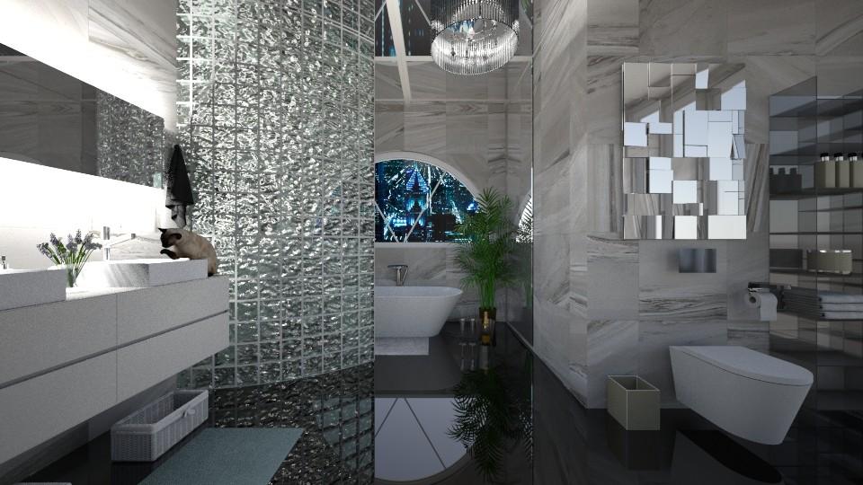 Bath and champagne - Bathroom - by libra23