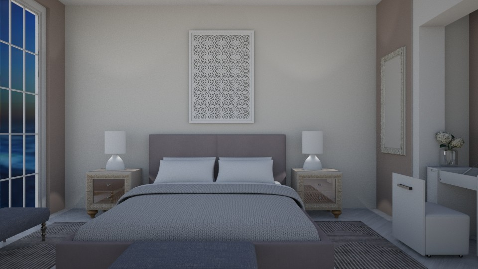Pastel bedroom - Bedroom - by Ana Angela
