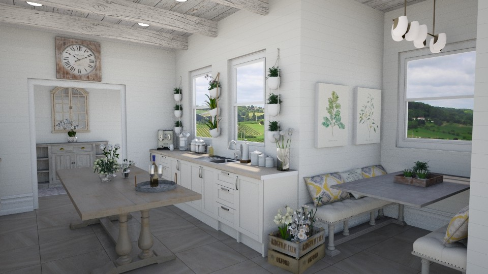 Farmhouse Kitchen - Rustic - Kitchen - by Samantha Krug