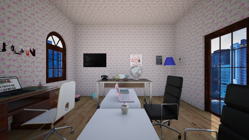 High Spec - Glamour - Office - by Ava Shirley