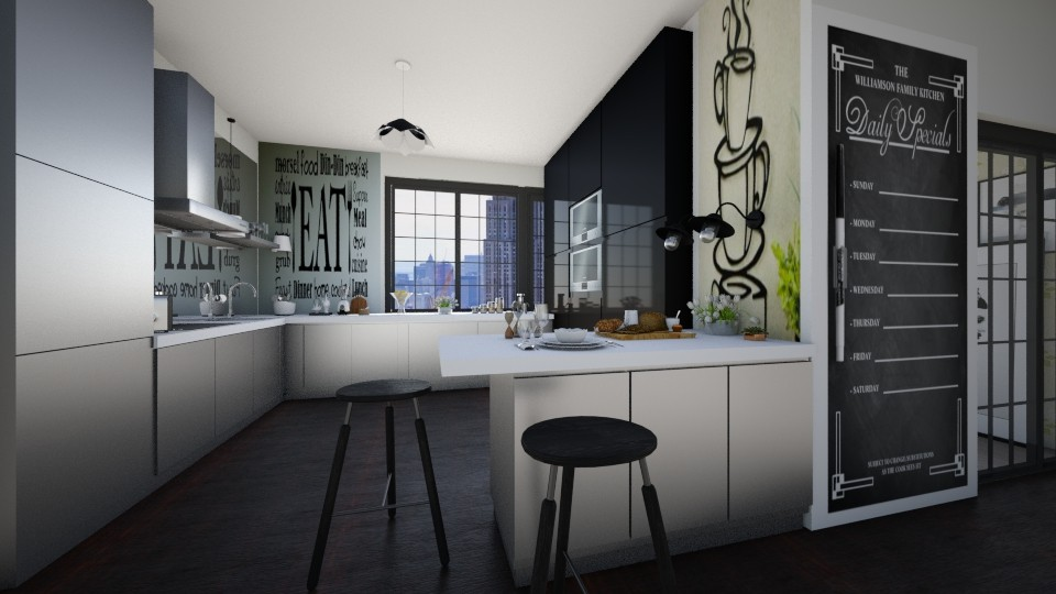 kitchen in my mind - Modern - Kitchen - by lamzoi