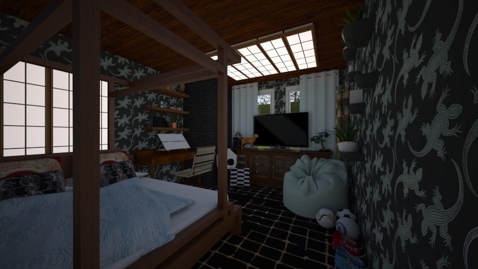 Inspire Teen Girl Room  - Bedroom  - by DecoMaster5