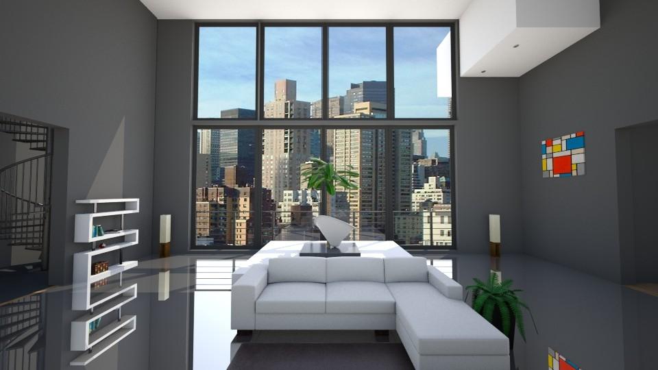 Living Room 1 - Modern - Bedroom - by eliJ